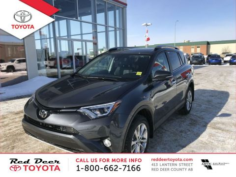 New 2018 Toyota RAV4 AWD Limited All Wheel Drive 4 Door Sport Utility
