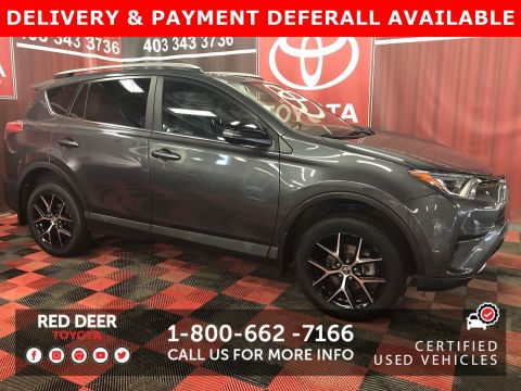 Certified Pre-Owned 2018 Toyota RAV4 SE - SAVE THE GST!