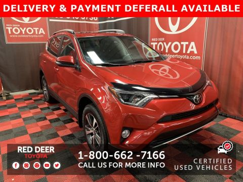 Certified Pre-Owned 2017 Toyota RAV4 XLE - SAVE THE GST!