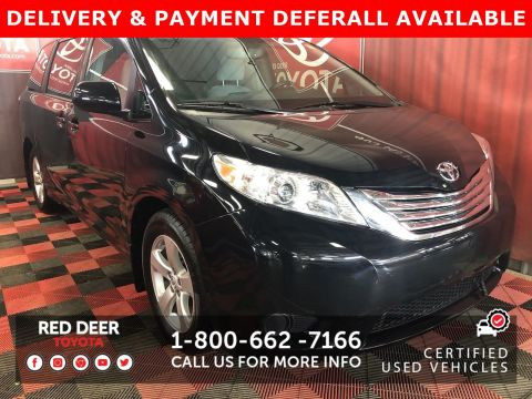 Certified Pre-Owned 2015 Toyota Sienna LE -3 PAYMENTS ON US !