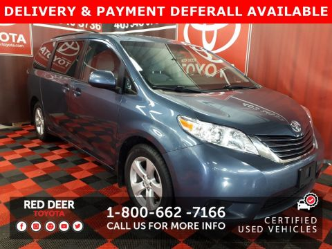 Certified Pre-Owned 2015 Toyota Sienna LE - 3 PAYMENTS ON US !