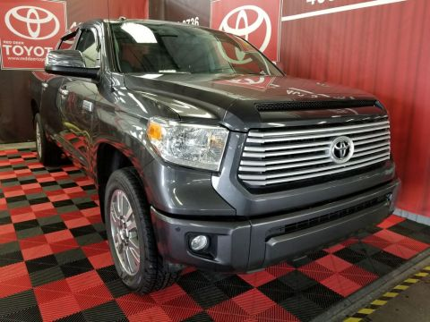 Certified Pre-Owned 2015 Toyota Tundra 4WD Crewmax 146 5.7L Platinum Four Wheel Drive 4 Door Pickup