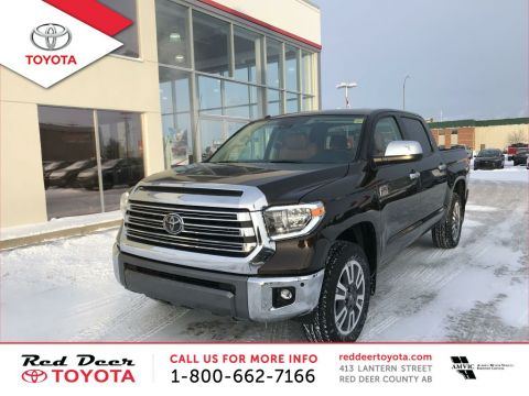New 2018 Toyota Tundra 4x4 Crewmax Platinum 5.7L Four Wheel Drive 4 Door Pickup