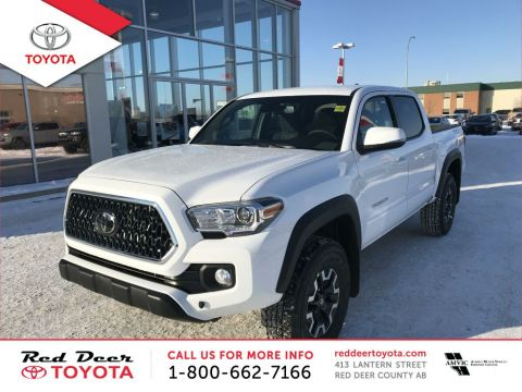 2018 Toyota Tacoma 4x4 Double Cab V6 Auto TRD Off Road 4 Door Pickup