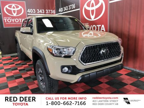 New 2018 Toyota Tacoma 4x4 Double Cab V6 Auto TRD Off Road With Navigation