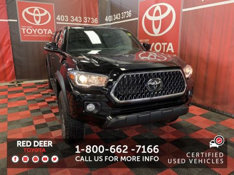 Certified Pre-Owned 2018 Toyota Tacoma TRD OFF ROAD WITH CANOPY