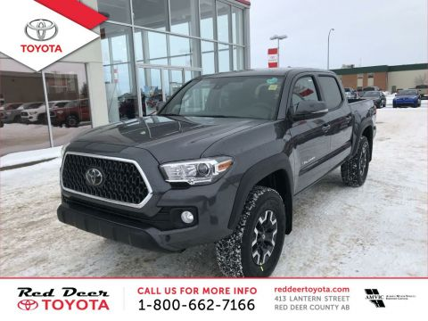 New 2018 Toyota Tacoma 4x4 Double Cab V6 Manual TRD Sport With Navigation