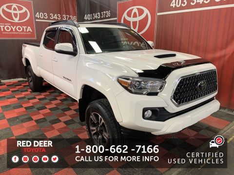 Certified Pre-Owned 2018 Toyota Tacoma TRD SPORT UPGRADE