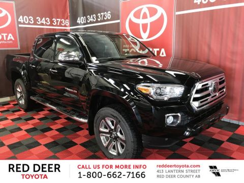 New 2018 Toyota Tacoma 4x4 Double Cab V6 Auto Limited With Navigation