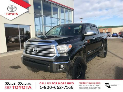Pre-Owned 2015 Toyota Tundra 4WD Crewmax 146 5.7L Limited Four Wheel Drive 4 Door Pickup