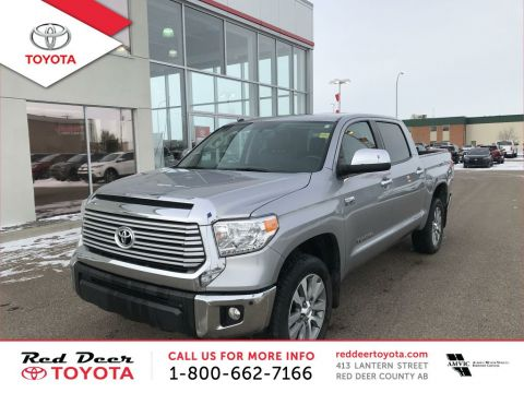 Pre-Owned 2016 Toyota Tundra 4WD Crewmax 146 5.7L Limited Four Wheel Drive 4 Door Pickup