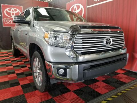 Certified Pre-Owned 2016 Toyota Tundra 4WD Crewmax 146 5.7L Limited Four Wheel Drive 4 Door Pickup