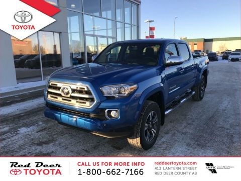New 2017 Toyota Tacoma 4WD Double Cab V6 Auto Limited With Navigation