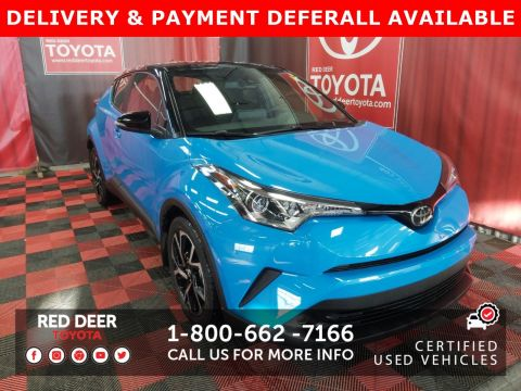 Certified Pre-Owned 2019 Toyota C-HR XLE Premium - 3 PAYMENTS ON US !