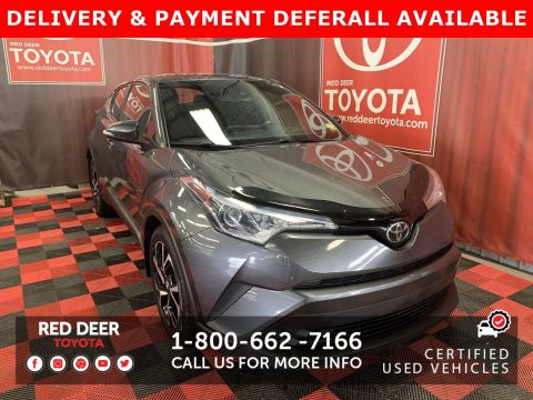 Certified Pre-Owned 2018 Toyota C-HR XLE - 3 PAYMENTS ON US !